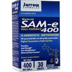 Jarrow SAM-e 400 30 tabs