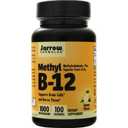 Jarrow Methyl B-12 (1000mcg) 100 lzngs