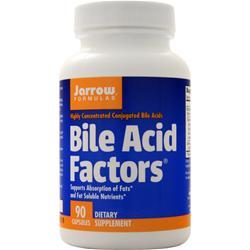 Jarrow Bile Acid Factors (333mg) 90 caps