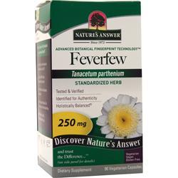 Nature's Answer Feverfew 90 vcaps