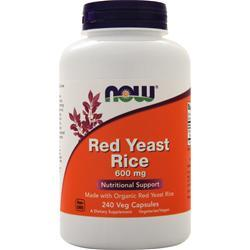 Now Red Yeast Rice (600mg) 240 vcaps