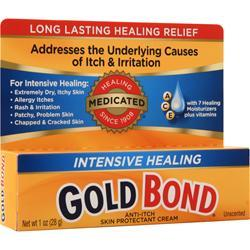 Chattem Gold Bond Intensive Healing Anti-Itch/Skin Protectant Cream 1 oz