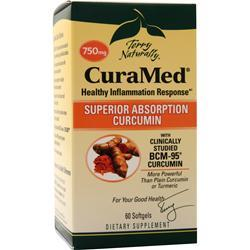 EuroPharma Terry Naturally - CuraMed 60 sgels
