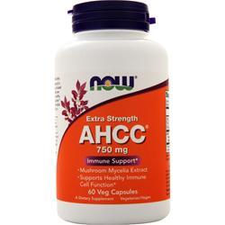 Now AHCC - Active Hexose Correlated Compound (750mg) 60 vcaps