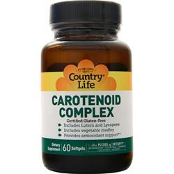 Country Life Carotenoid Complex 60 sgels