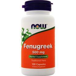 Now Fenugreek (500mg) 100 caps