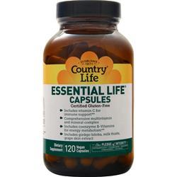 Country Life Essential Life 120 vcaps