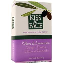 Kiss My Face Olive Oil Bar Soap Olive and Lavender 8 oz