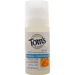 Tom's Of Maine Crystal Confidence Deodorant Citrus Zest 2.4 fl.oz