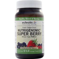 Eclectic Institute Fresh Freeze-Dried Nutrigenomic Berry POW-der 90 grams