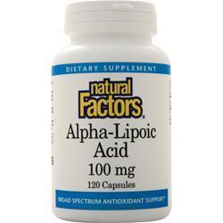 Natural Factors Alpha-Lipoic-Acid (100mg) 120 caps