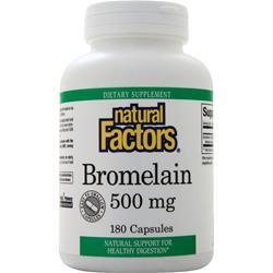 Natural Factors Bromelain (500mg) 180 caps