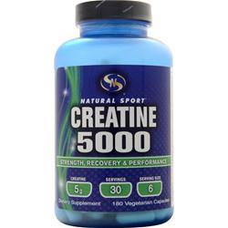 STS Creatine 5000 180 vcaps