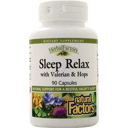 Natural Factors Sleep Relax Formula 90 caps