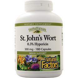 Natural Factors St. John's Wort Extract (300mg) 180 caps