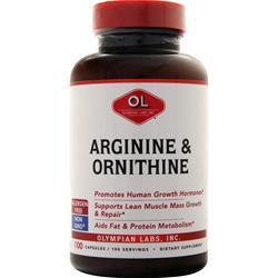 Olympian Labs Arginine & Ornithine 100 caps