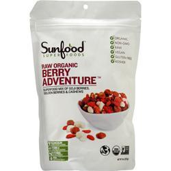 Sunfood Organic Snack Mix Berry Adventure 8 oz