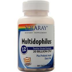 Solaray Multidophilus 12 100 vcaps