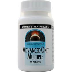 Source Naturals Advanced One Multiple 60 tabs