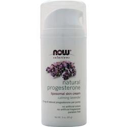 Now Natural Progesterone Calming Lavender 3 oz