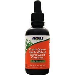 Now Fresh Green Black Walnut Wormwood Complex 2 fl.oz