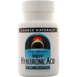 Source Naturals Injuv Hyaluronic Acid (70mg) 60 sgels