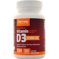 Jarrow Vitamin D3 (2500IU) 100 sgels
