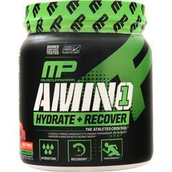 Muscle Pharm Amino 1 (Hydrate + Recover) Fruit Punch .94 lbs