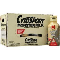 Cytosport Monster Milk RTD (17 fl.oz.) Vanilla 12 bttls