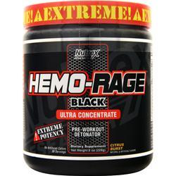 Nutrex Research Hemo Rage Black Ultra Concentrate Citrus Burst 8 oz