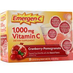Alacer Emergen-C Cranberry Pomegranate 30 pckts