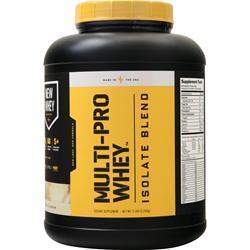 New Whey Nutrition Multi-Pro Whey Isolate Blend Vanilla Cream 5 lbs