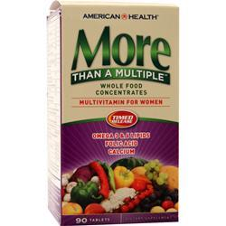American Health More Than A Multiple - Multivitamin for Women 90 tabs