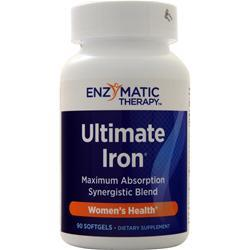 Enzymatic Therapy Ultimate Iron 90 sgels