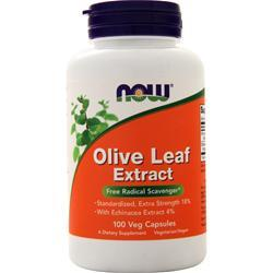 Now Olive Leaf Extract with Echinacea Angustifolia 100 vcaps