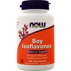 Now Soy Isoflavones - Extra Strength 120 caps