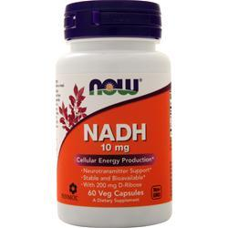 Now NADH (10mg) 60 vcaps