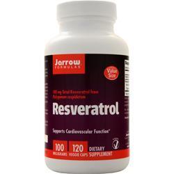 Jarrow Resveratrol 100 120 vcaps