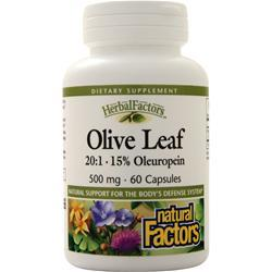 Natural Factors Olive Leaf Extract (500mg) 60 caps