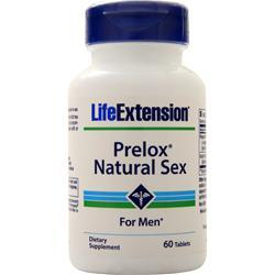 Life Extension Prelox - Natural Sex For Men 60 tabs