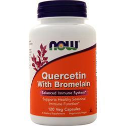 Now Quercetin with Bromelain 120 vcaps
