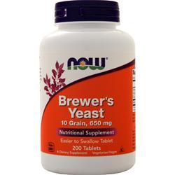 Now Brewer's Yeast 200 tabs