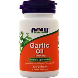 Now Garlic Oil (1500mg) 100 sgels