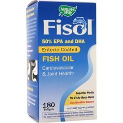 Nature's Way Fisol - Fish Oil 180 sgels