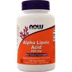 Now Alpha Lipoic Acid (250mg) 120 vcaps
