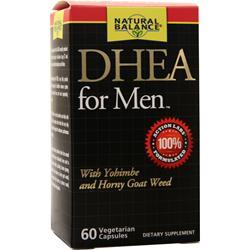 Natural Balance DHEA for Men 60 caps