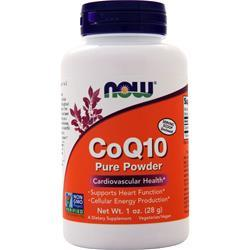 Now CoQ10 100% Pure Powder 1 oz