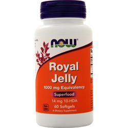 Now Royal Jelly (1000mg) 60 sgels