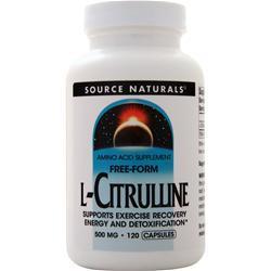 Source Naturals L-Citrulline (500mg) 120 caps