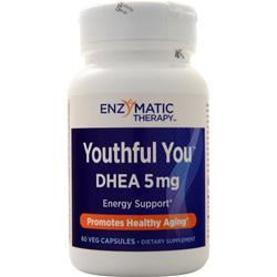Enzymatic Therapy Youthful You-DHEA (5mg) 60 caps